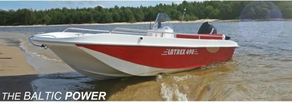 Motorboot LR-490 das Boot mit Baltic Power kaufen